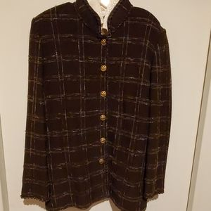 St John Collection by Marie Gray Mocha Jacket  14